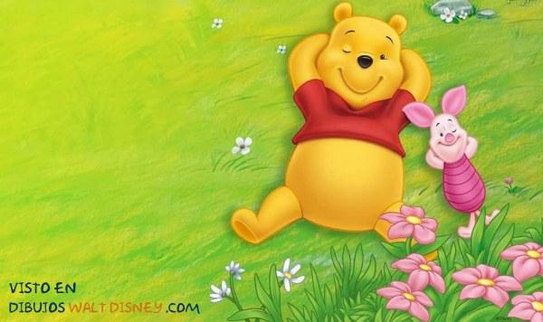 Dibujo El descanso de Winnie The Pooh