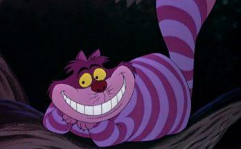 Dibujo El siempre sonriente gato de Cheshire