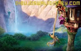 Dibujo Rapunzel y bandido