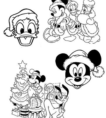 Dibujo Familia Disney