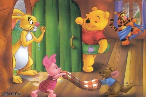 Dibujo La casa de Winnie The Pooh