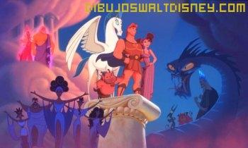 Dibujo Hércules en el Olimpo