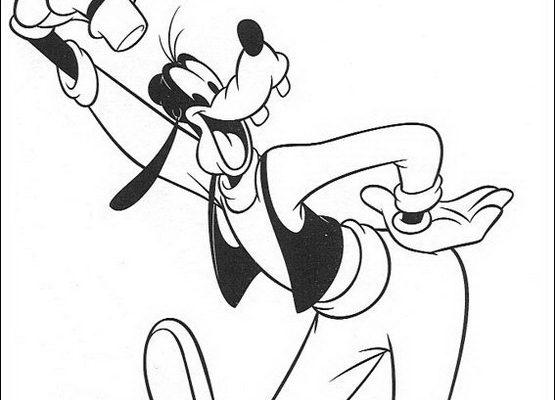 Dibujo Goofy