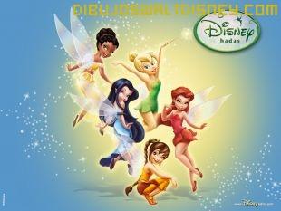 Dibujo La magia de las hadas Disney
