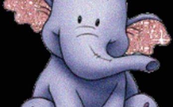 Dibujo El elefante sonriente
