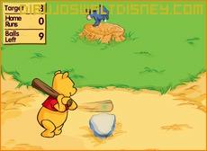 Dibujo Juego Winnie bateador