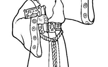 Dibujo El mago Merlín y su nueva pócima