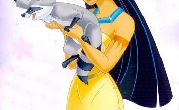 Dibujo Miko y Pocahontas