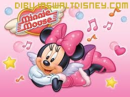 Dibujo Minnie Musical