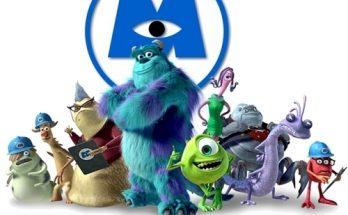 Dibujo Familia de Monster inc
