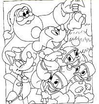 Dibujo Navidad Disney
