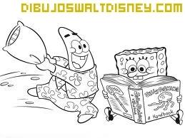 Dibujo Patricio y Bob Esponja