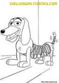 Dibujo Perro Slinky