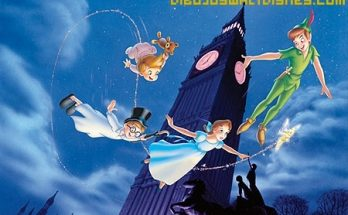 Dibujo Big Ben y Peter Pan