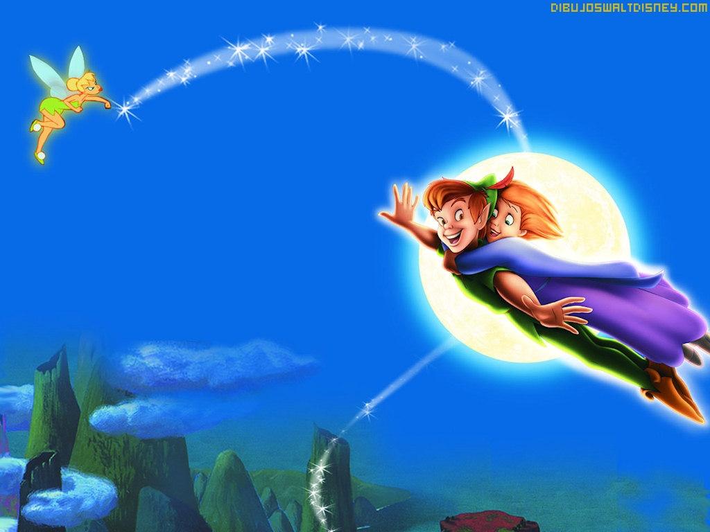 Peter Pan y Campanilla   Dibujos Disney