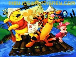 Dibujo Winnie de Pooh de pirata