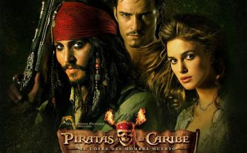 Dibujo Piratas del Caribe