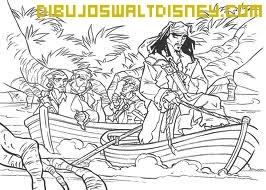 Dibujo Tripulación Jack Sparrow