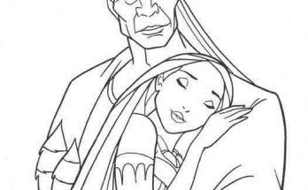 Dibujo Un padre verdaderamente amorosos