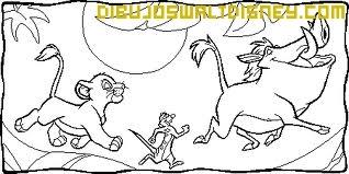 Dibujo Pumba