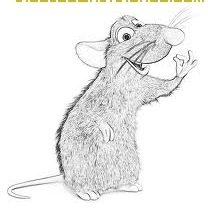 Dibujo Ratatouille