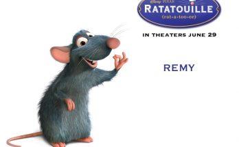 Dibujo Te presento a un pequeño ratoncito llamado Remy