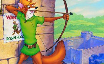 Dibujo Arquero Robin Hood