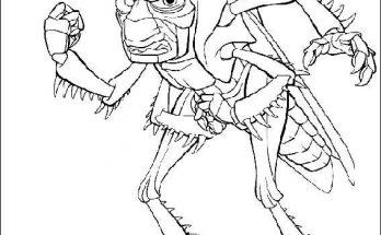 Dibujo El malvado Hooper