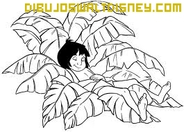 Dibujo Mowgli