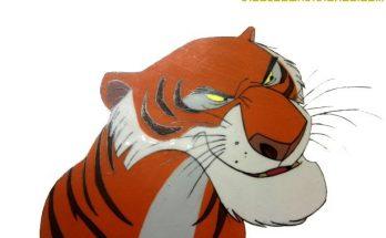 Dibujo Tigre Shere Khan