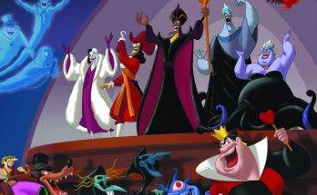 Dibujo Villanos Disney
