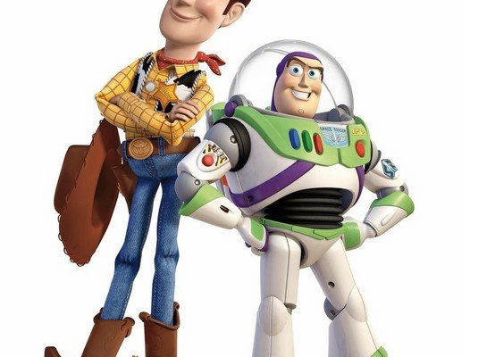 Dibujo Woody y Buzz